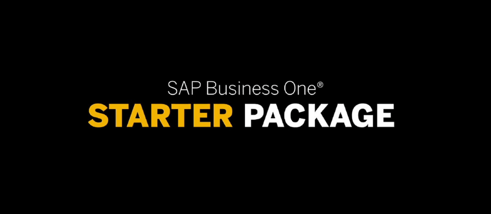 SAP Business One Starter Package
