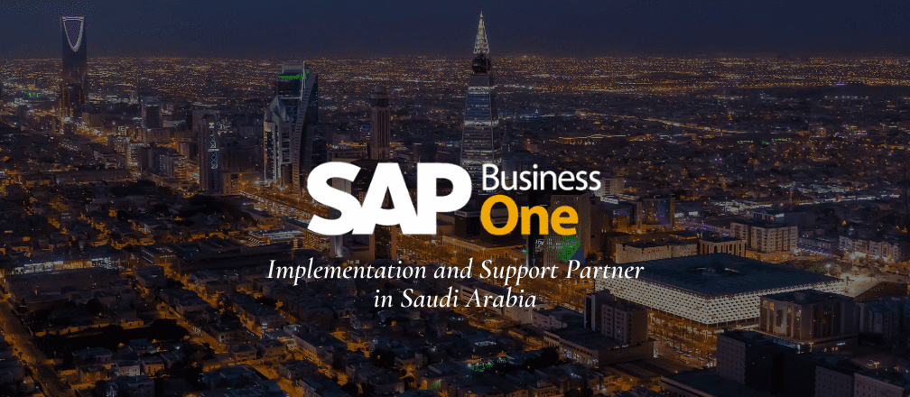 SAP Business One Partner in Saudi Arabia