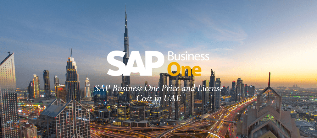 SAP Business One Price and License Cost in UAE